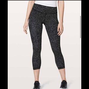Lululemon Align Pant Leggings Black & White size 8